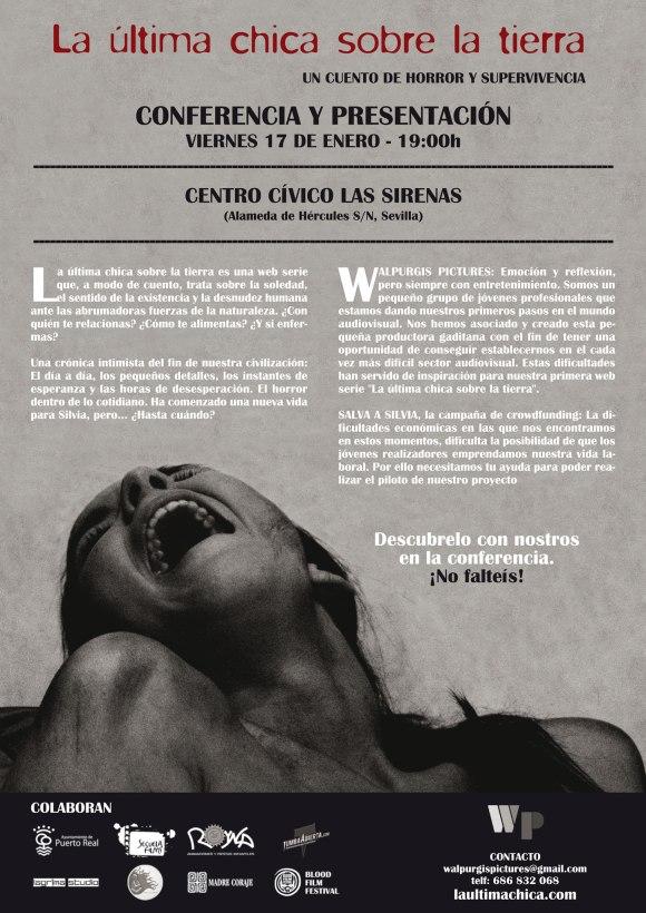 Presentación en Sevilla de la web serie La última chica sobre la tierra